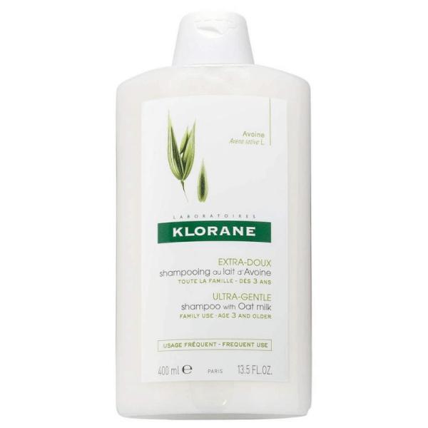 klorane ultra-gentle shampoo with oat milk