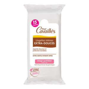 Roge Cavailles Extra-Soft Intimate Wipes 15 Wipes