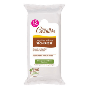 Roge Cavailles Intimate Moisturizing Wipes 15 Wipes