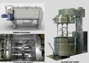 pictures of mechanical agitator granulators
