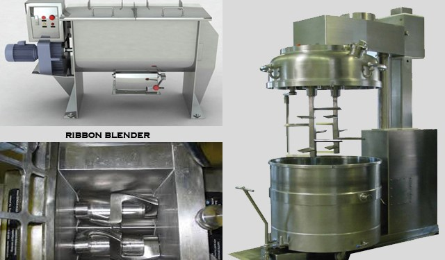 pictures of mechanical agitator granulators