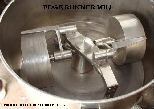 image of an edge-runner mill