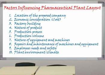 Factors Influencing Pharmaceutical Plant Layout