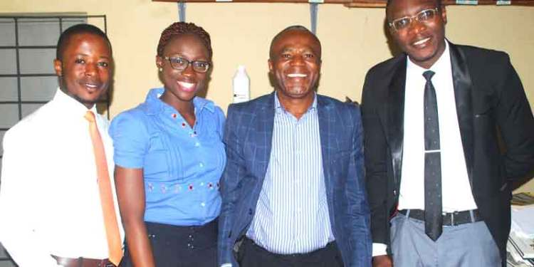 Nigerian drug industry: Picture of Pharmapproach crew with Professor Sabinus Ofoefule