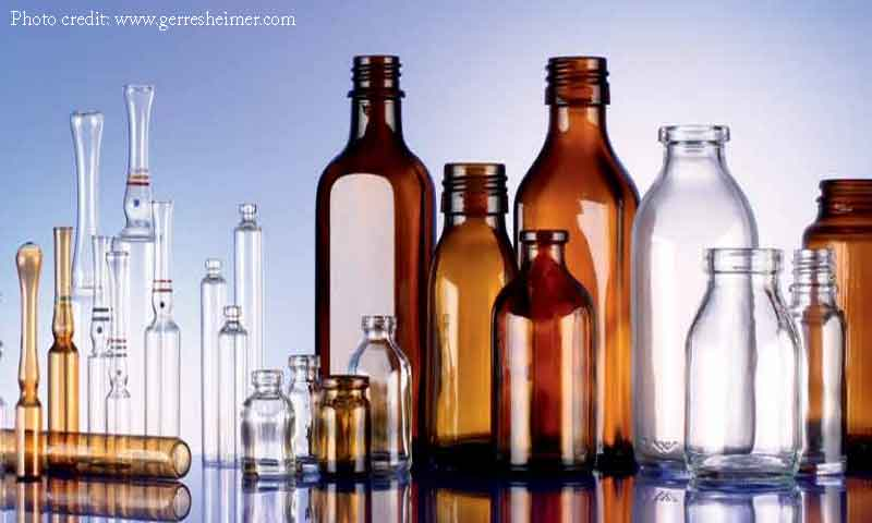 Glass Containers for Pharmaceutical Use: Composition, Types