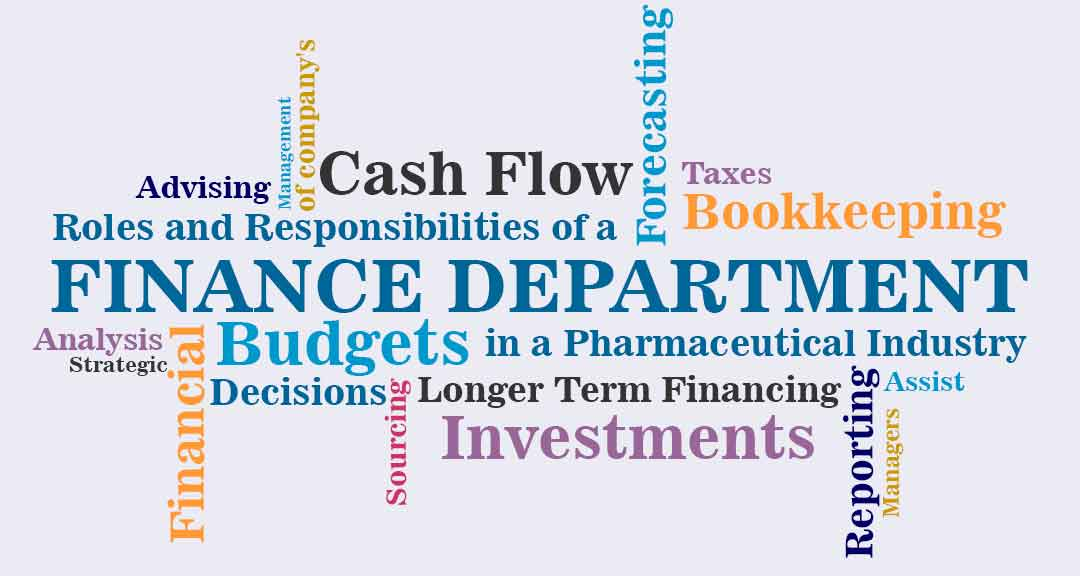 Roles and Responsibilities of a Finance Department in a