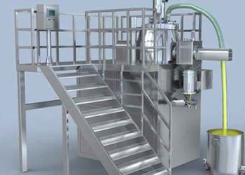 Picture of rapid mixer granulators