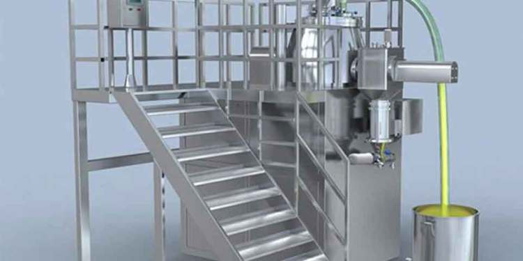 Picture of rapid mixer granulators