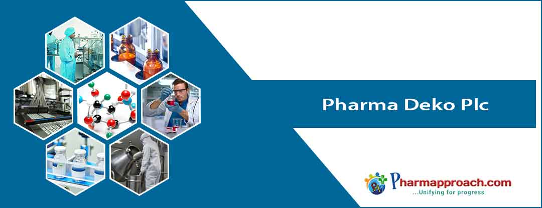 Pharmaceutical companies in Nigeria: Pharma Deko Plc