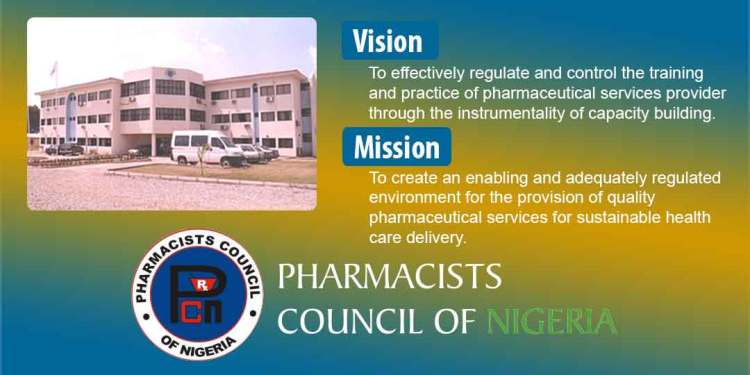 Pharmacists Council of Nigeria: Vision and Mission Statement