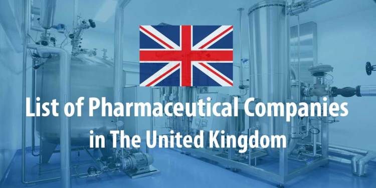 Featured image for List of Pharmaceutical Companies in the United Kingdom