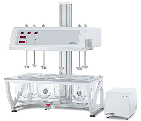 Quality control tests for tablets: USP Dissolution Apparatus 2