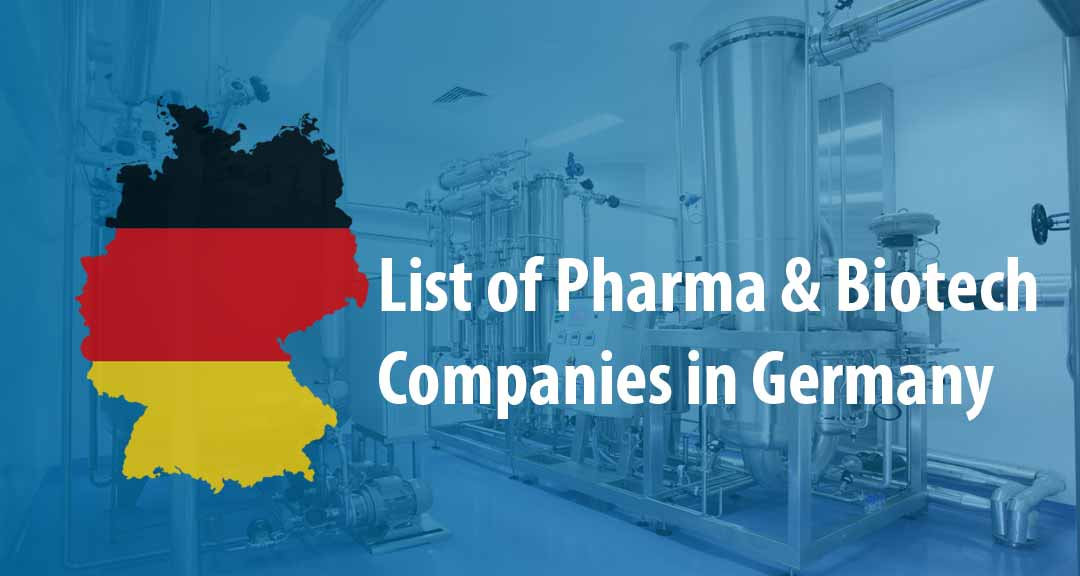 List of Pharmaceutical Companies in Germany - Pharmapproach com