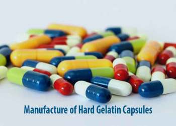 Manufacture of Hard Gelatin Capsule shells