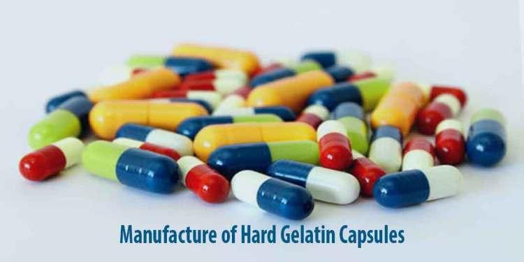 Manufacture of Hard Gelatin Capsule shells