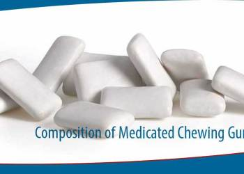 featured image for Composition of Medicated Chewing Gum
