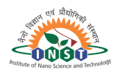 Huge Junior Research Fellow Post Vacancy - Institute of Nanoscience and Technology (INST) 1