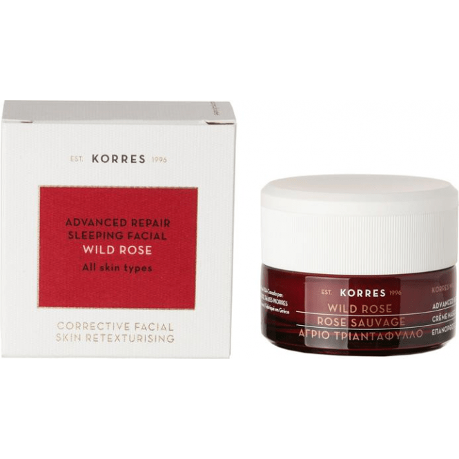 Korres Wild Rose Advanced Repair Sleeping Facial 40ml