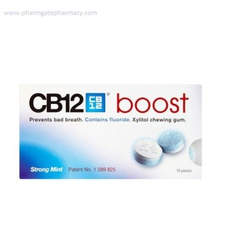 CB12 Boost Chewing Gum x 10 Pieces