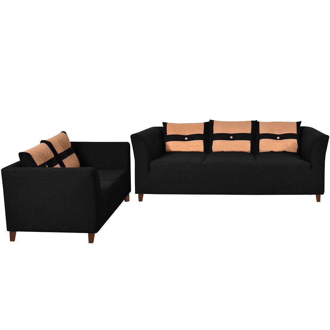 manhattan five seater sofa set 3 1 brown protect dog | www.gradschoolfairs.com