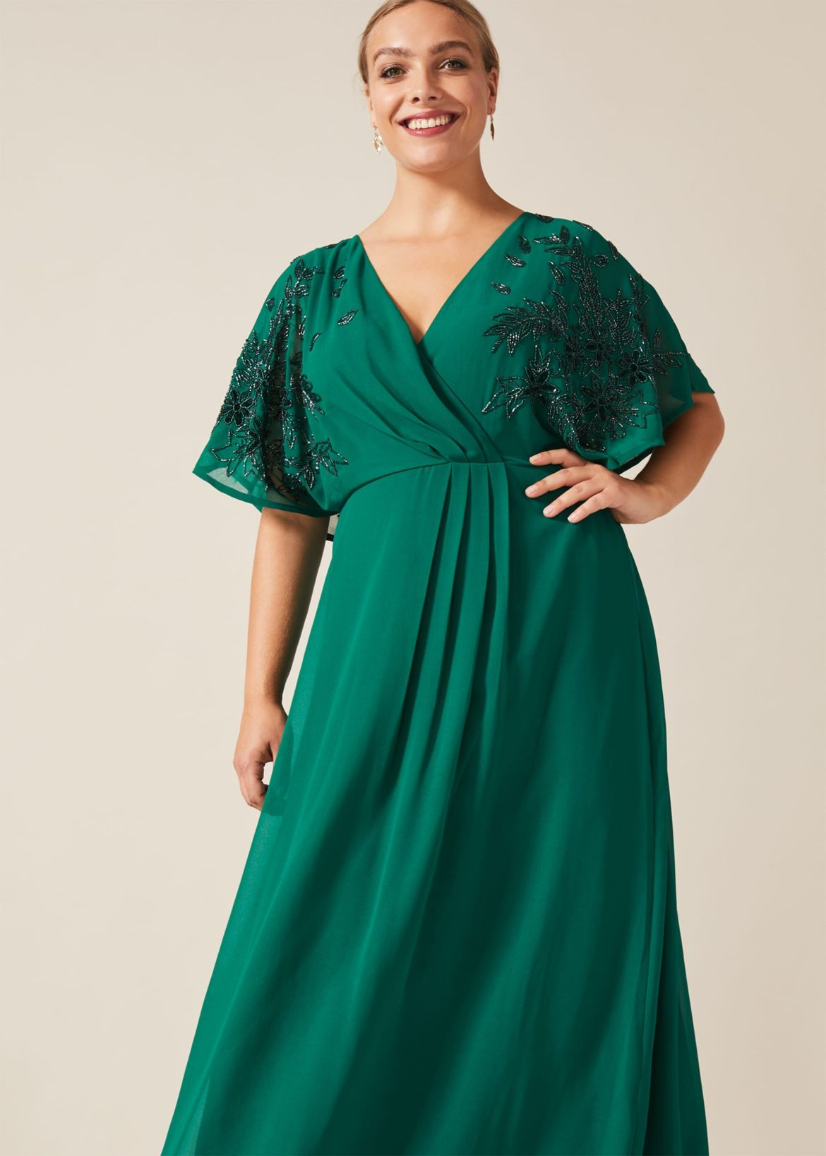Tabitha Beaded Maxi Dress