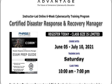CDRRM 6-Week Cybersecurity Course