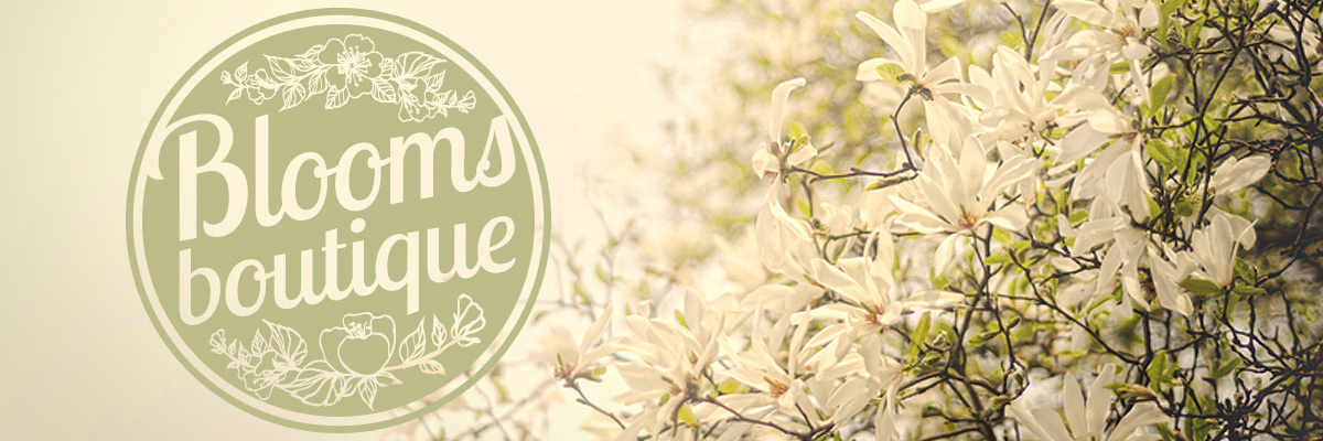 Logo created for Blooms florist
