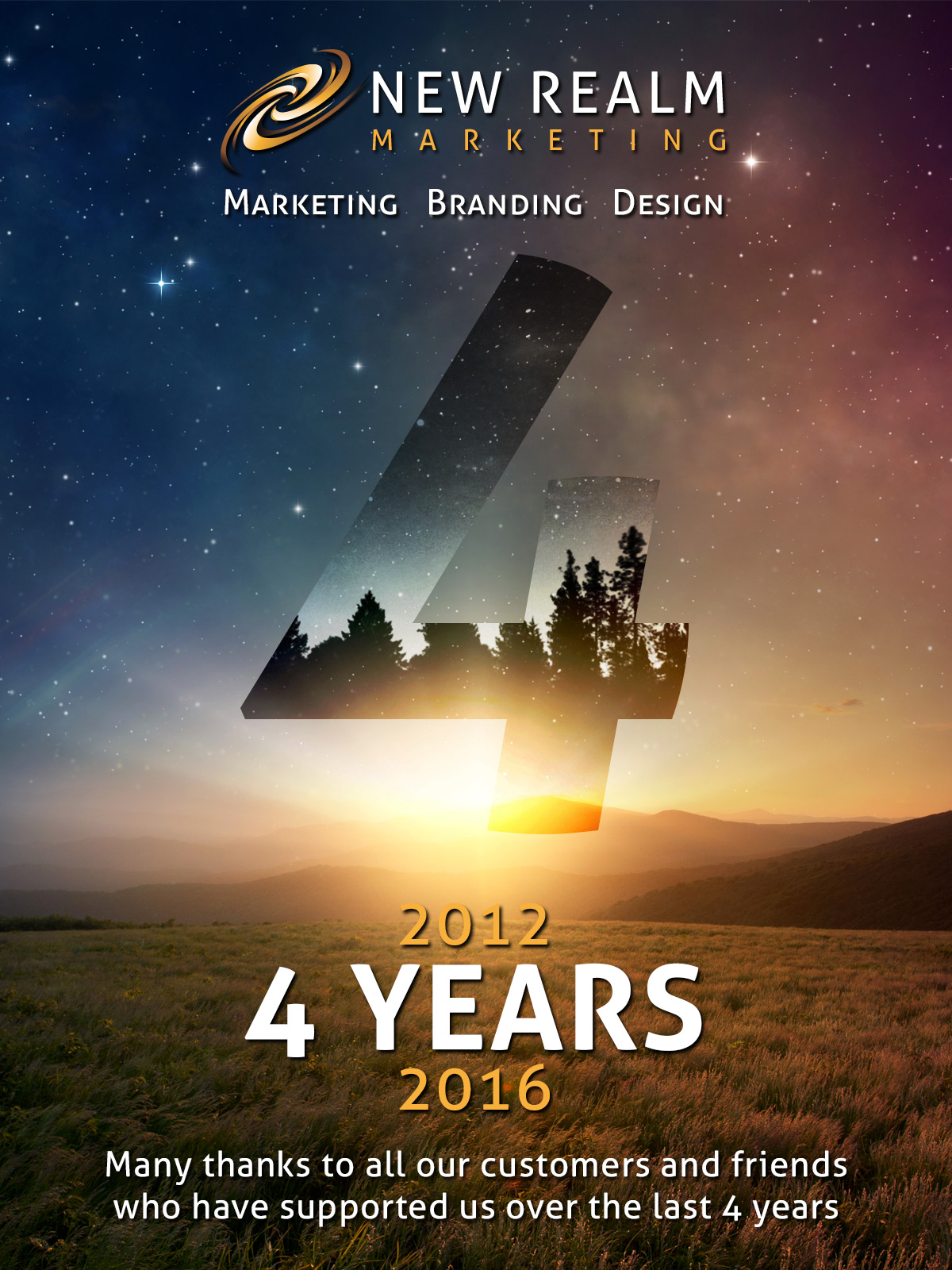 New Realm Marketing 4 years mailchimp