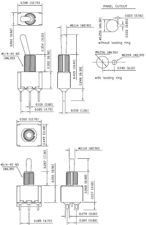 phaseda llc hy29 toggle switches
