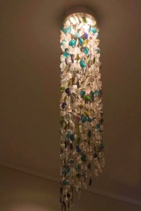 Recycled Glass ChandelierTube Shape - Phases Africa ...