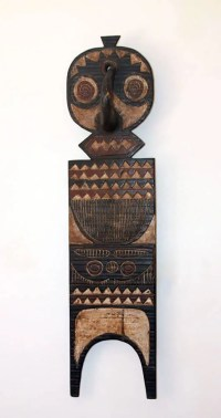 African Wall Decor Plank Mask - Phases Africa | African ...