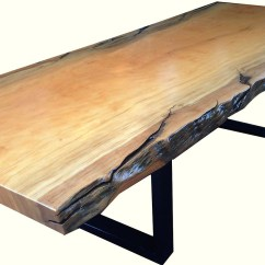Wooden Sofa Legs South Africa John Lewis Bed Clearance Natural Edged Wood Dining Room Table Phases