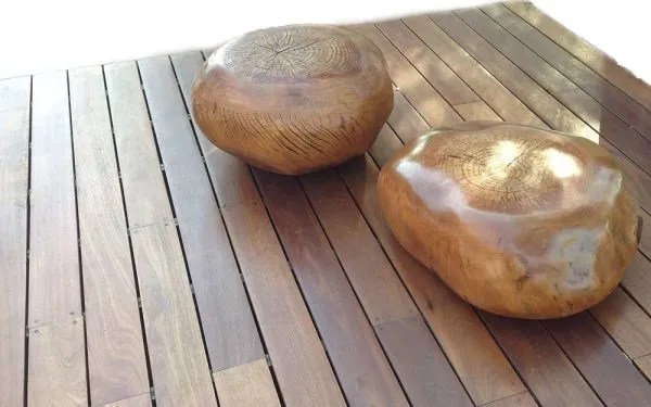Wood Turned Pebble TablesSeating  Phases Africa  African Decor  Furniture