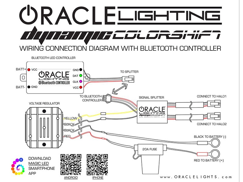 2014 mustang oracle halo light kit on halo fog lamp wiring diagram