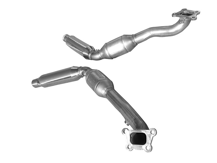 2012-2015 Camaro V6 High Flow Catalytic Converters By Solo