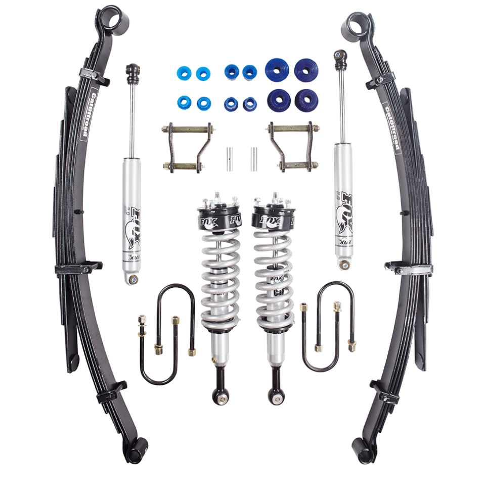 CALOFFROAD PLATINUM FOX TOUR PACK 2″ LIFT