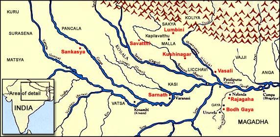 Buddha Land Map