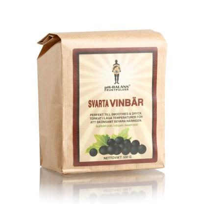 Svartvinbärspulver 500 g
