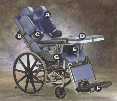 broda chair accessories mini lounge chairs invacare htr 5500 tilt and recline wheelchair tilting recliner options