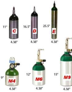cylinder physical sizes also oxygen tank duration times chart rh phc online