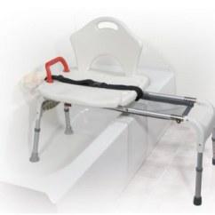 Nova Transport Chair Adams Adirondack Stacking White Sliding Transfer Bench - Drive Rtl12075 Folding