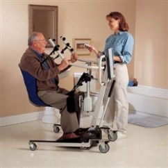 Tall Folding Chairs Chair Backpack Invacare Standing Lift Sling - Transport Patient