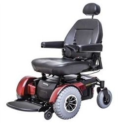 Pride Jazzy 1450 FrontWheel Drive Bariatric Power Chair