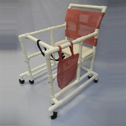 PVC OverSized Adult Walker  Bariatric PVC Walker Gait