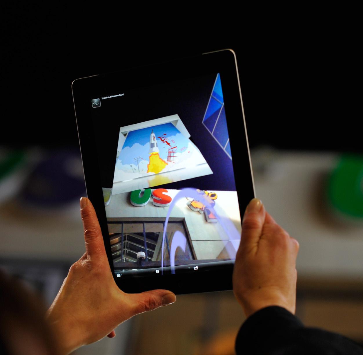 AR on iPad