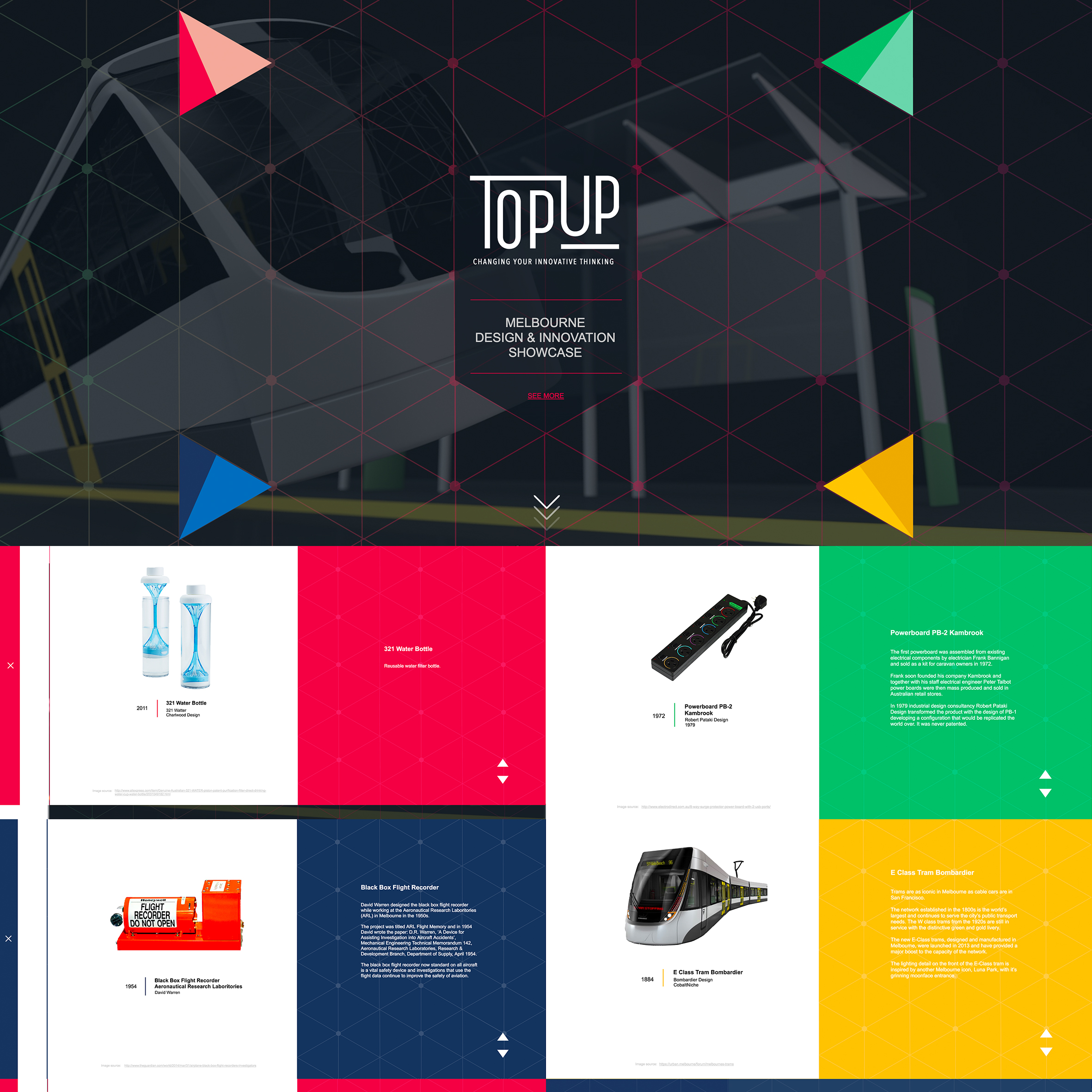 Chang Han, TopUP 2015 - Master of Multimedia Design