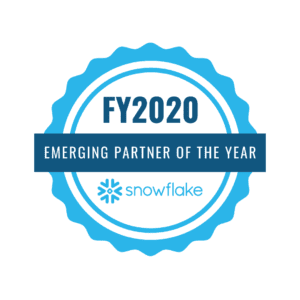 Snowflake Emerging Partner of the Year 2