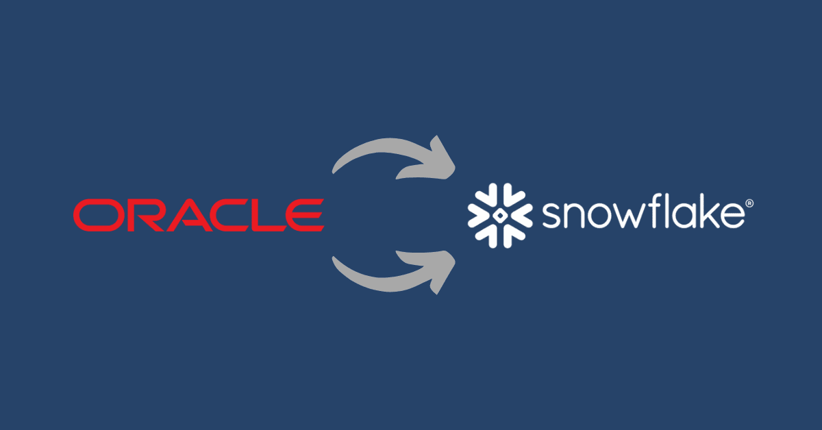 Oracle to Snowflake Migration