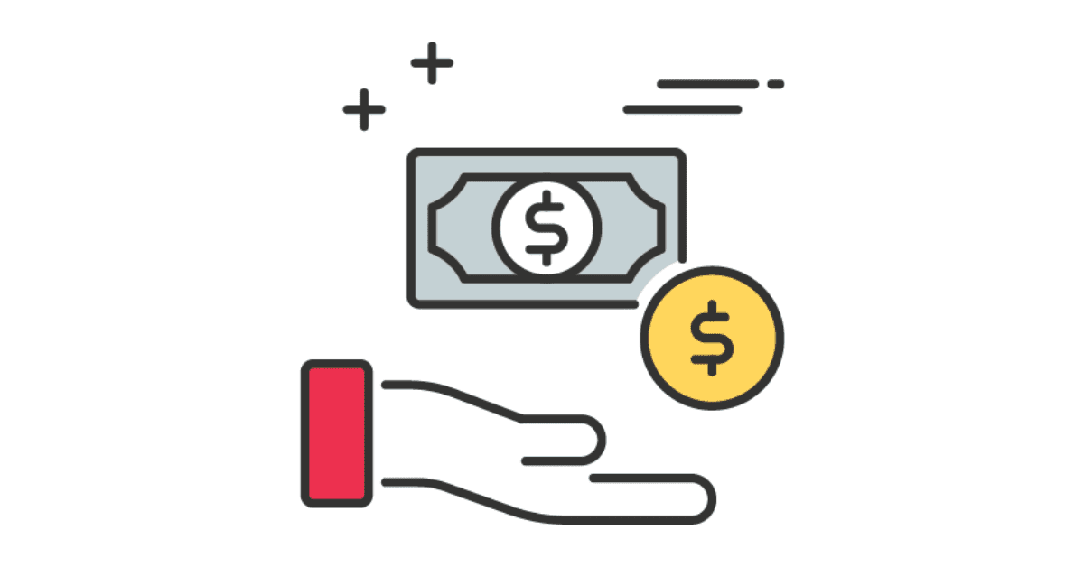 """A picture of a hand and dollar symbol symbolizing the question, """"what is the cost to deploy and maintain a machine learning model?"""""""