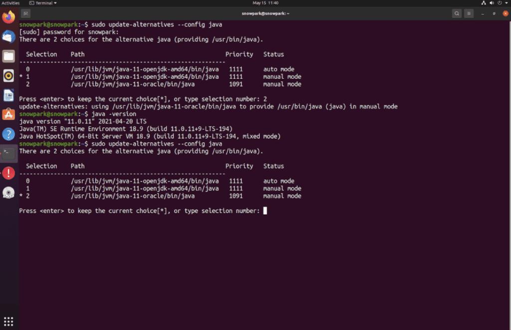 A screenshot displaying Java code